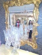 Metidas en el espejo