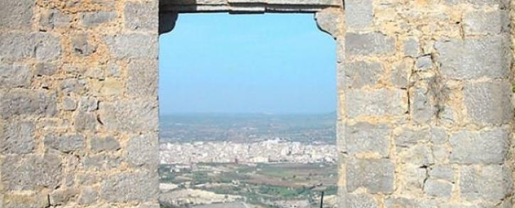 Manacor, seen from the hermitage the Cor de Jesús