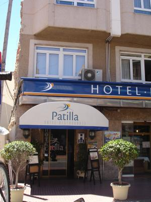 """Foto del exterior de """"Hotel Patilla"""""""