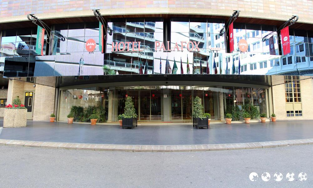 Hotel palafox zaragoza for Piscina palafox zaragoza