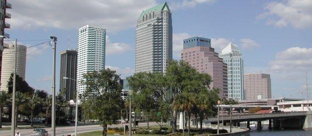Fotografía de Florida: Tampa skyline