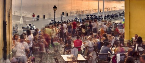 Fotografía de Gijón: Cuesta Cholo Vista sobre el puerto Benedicto Santo