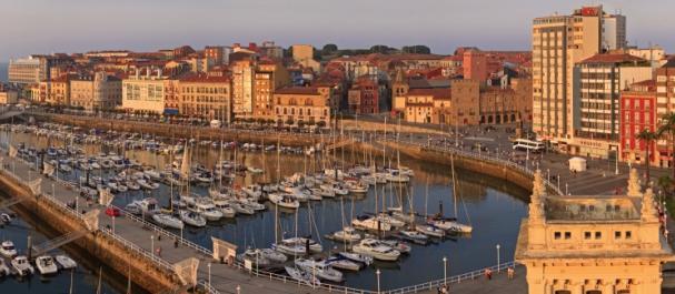 Fotografía de Gijón: Puerto deportivo Benedicto Santos