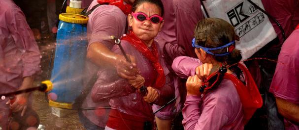 Fotografía de Haro: La Batalla del Vino en Haro