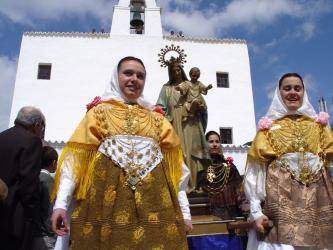 Trajes tradicionales de Ibiza