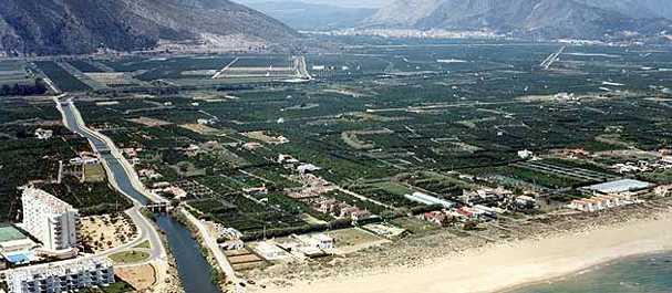 Fotografía de Xeraco: Xeraco, vista aerea