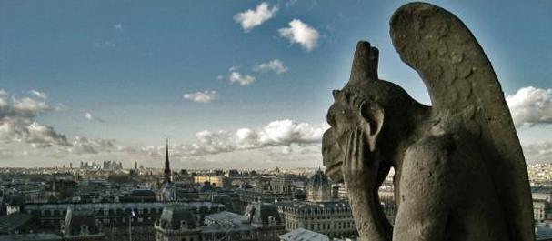 Fotografía de Francia: Paris - gárgola