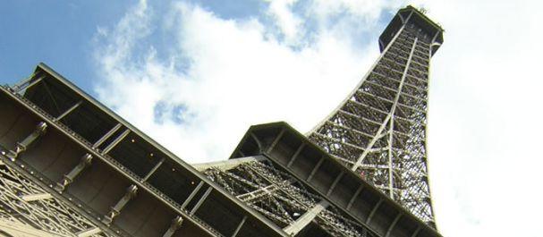 Fotografía de París: Vista de la Torre Eiffel