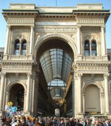 Galeria Vittorio Emanule, Milano