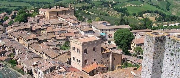 Fotografía de Siena: San Gimignano