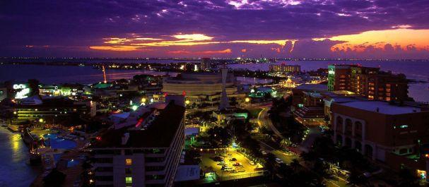 Fotografía de Cancún: Atardecer en Cancún
