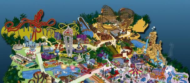 Fotografía de : Mapa del parque