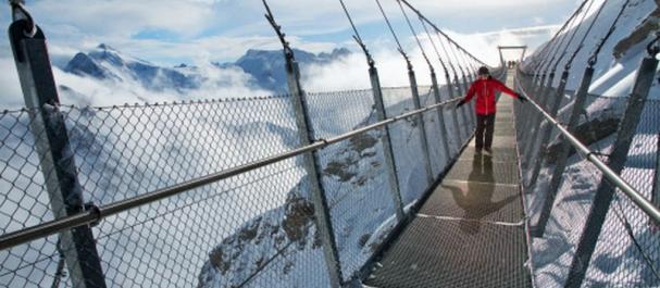 Fotografía de : Esquiando en los Alpes suizos