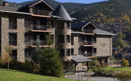 Foto del exterior de Hotel Abba Xalet Suites