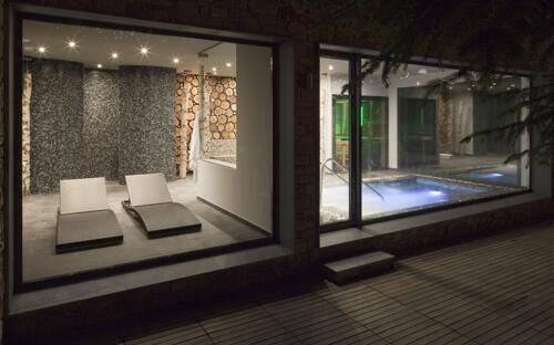 Foto de una habitación de Hotel Abba Xalet Suites