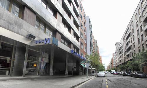 Foto do exterior - Hotel Ilunion Bilbao (ex Confortel)