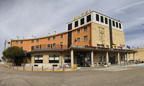 Foto del exterior de Hotel Helmantico
