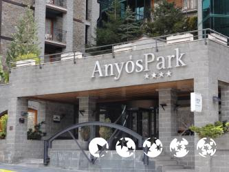 """Foto exterior del """"Hotel y Apartamentos Anyós Park"""""""