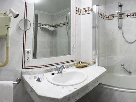 Foto del baño de Hotel Palacio de Los Velada