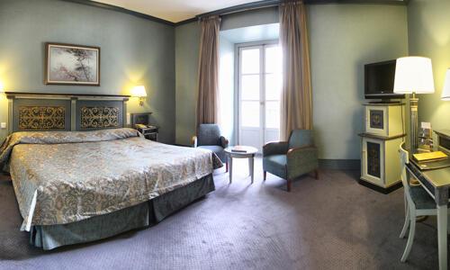 Foto de una habitación de Hotel Palacio de Los Velada