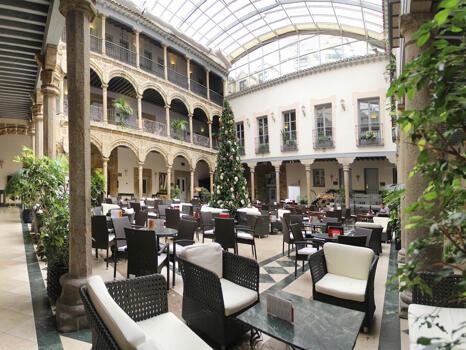 Foto de las zonas nobles de Hotel Palacio de Los Velada