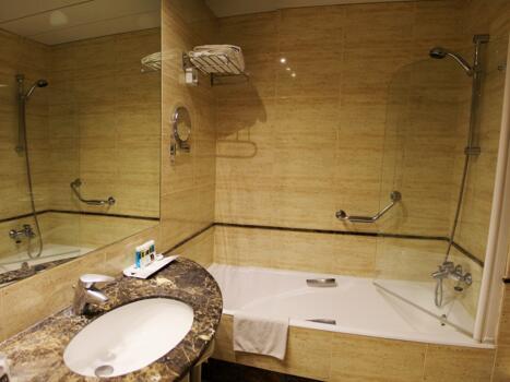 Foto del baño de RH Bayren Hotel & Spa