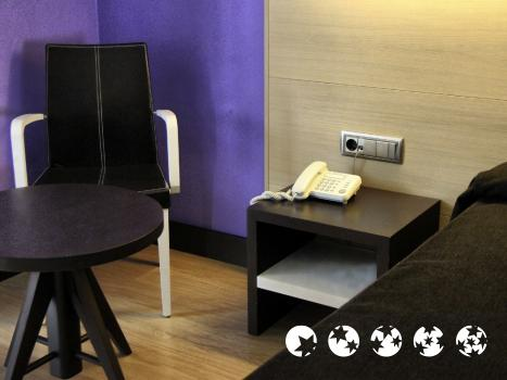 Foto de una habitación de Hotel Ciudad de Logroño