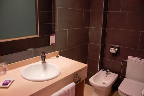 Foto del bagno Hotel Servigroup Papa Luna