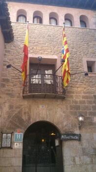 Foto degli esterni Hotel Albarracin