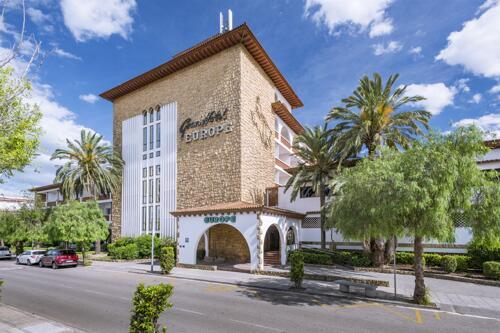 Foto del exterior de 4R Gran Hotel Europe