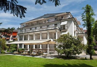 Außenansicht - Hotel Badischer Hof Baden Baden
