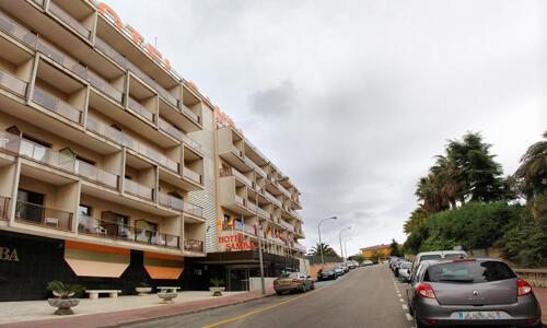 Foto del exterior de Hotel Samba