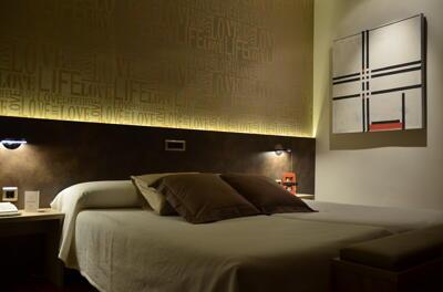 Foto de una habitación de Hotel Oriente de Teruel