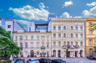 Foto do exterior - Hotel President Budapest