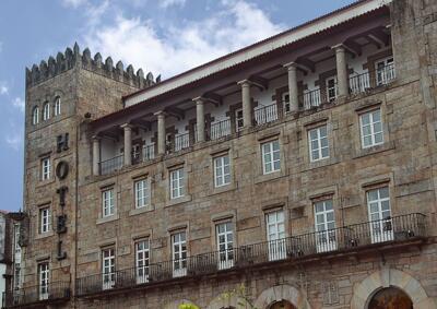 Foto degli esterni Hotel Compostela