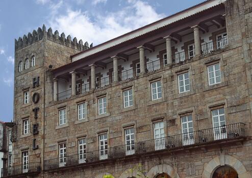 Foto del exterior de Hotel Compostela