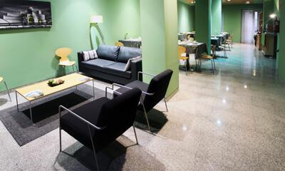 Foto de las zonas nobles de Hotel Bilbao Jardines