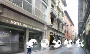 """Foto del exterior de """"Hotel Bilbao Jardines"""""""