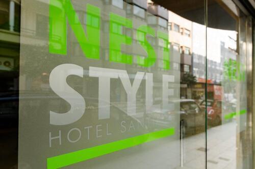 Außenansicht - Hotel Nest Style Santiago