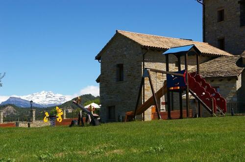 Foto del exterior de Casas Rurales Pirineo. Ainsa, Huesca, P.N. Ordesa