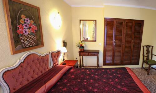 Foto de una habitación de Hotel Les Fonts