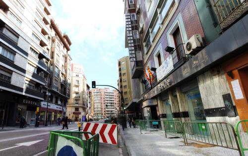 Foto del exterior de Hostal Cataluña