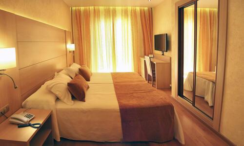 Foto de una habitación de Hotel Pimar