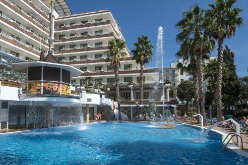 Foto degli esterni Hotel Indalo Park