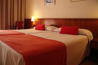 Foto de una habitación de Hotel Montecarlo