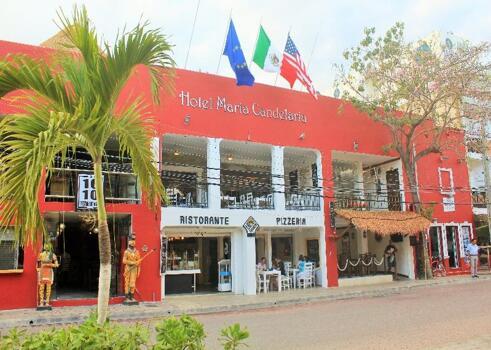 Foto del exterior de Hotel Maria Candelaria