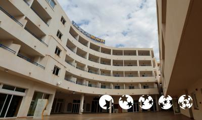 Foto del exterior de Aparthotel Mojacar Beach