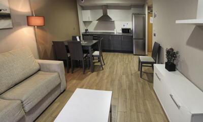 Foto de una habitación de Aparthotel & Spa Jacetania