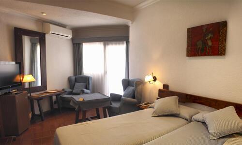 Foto di una camera da Hotel Hosteria del Mar