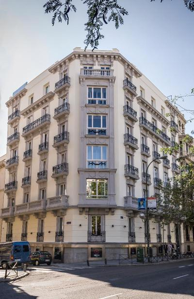 Foto del exterior de Safestay Madrid